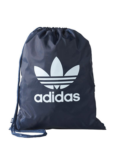 Adidas Trefoil Gym Sack-NAVY-One Size