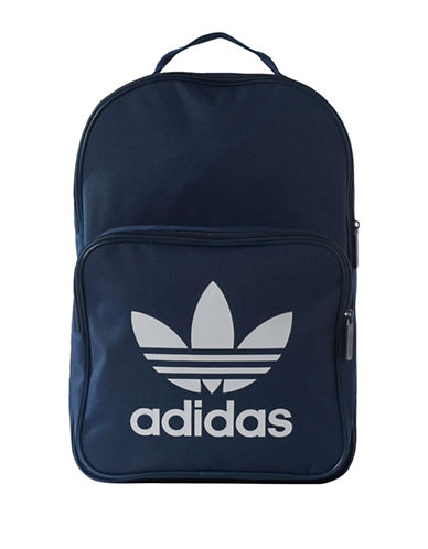 Adidas Originals Trefoil Backpack-NAVY-One Size