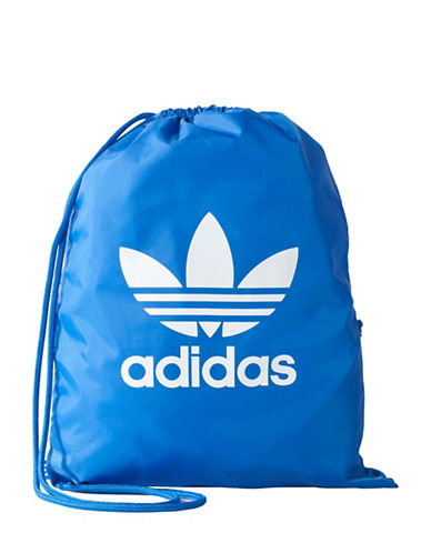 Adidas Trefoil Gym Sack-BLUE-One Size