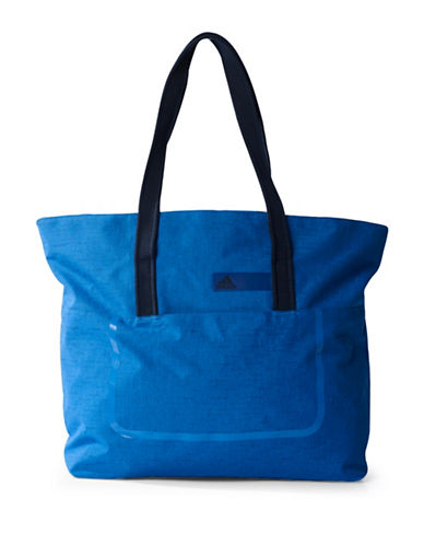Adidas Solid Tote Bag-BLUE-One Size