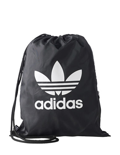Adidas Trefoil Gym Bucket Bag-BLACK-One Size