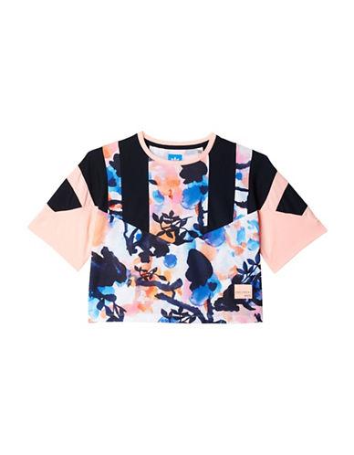 Adidas Originals Graphic Cropped Tee-MULTI-Medium 88982613_MULTI_Medium