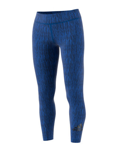 Adidas Mr Vert Climalite Leggings-BLUE-X-Large