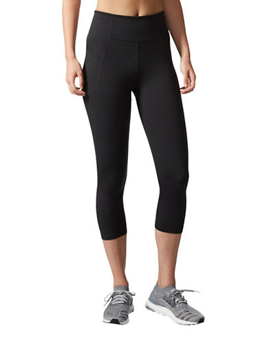 Adidas HR 34 Compression Tights-BLACK-Small