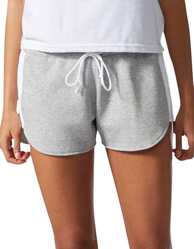 Adidas Ikat Colourblock Shorts-GREY-Large