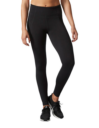 Adidas HR Compression Long Tights-BLACK-Medium