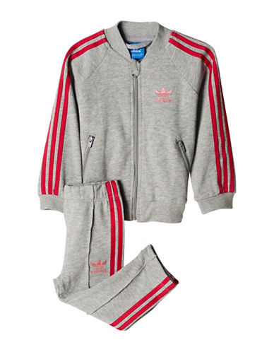 Adidas Two-Piece Originals Trefoil Tracksuit-PINK-9 Months 89008614_PINK_9 Months