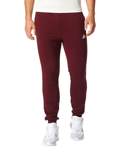 Adidas Essentials French Terry Pants-MAROON-Large 88969282_MAROON_Large