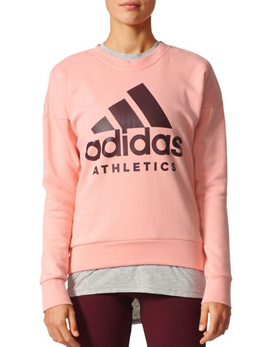 Adidas Sport ID Sweatshirt-PINK-Medium 89080319_PINK_Medium