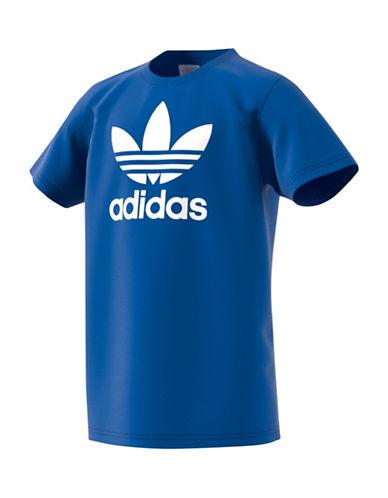 Adidas Trefoil T-Shirt-BLUE-Medium 88916088_BLUE_Medium