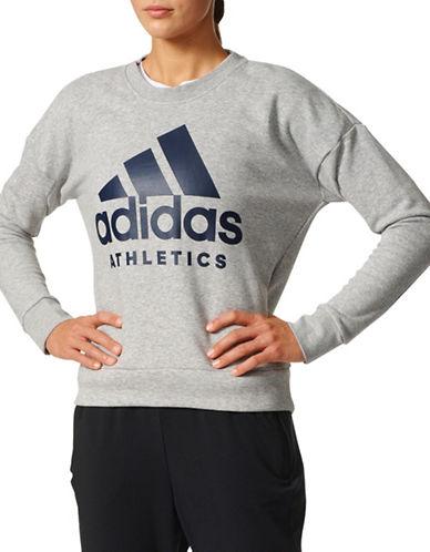 Adidas Sport ID Logo Sweatshirt-GREY-Small 89080413_GREY_Small