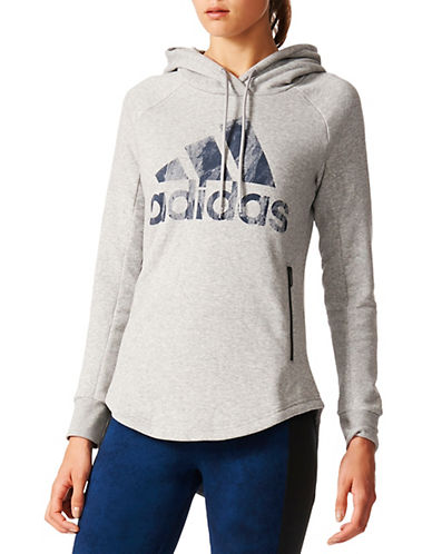Adidas Sport ID Pullover Hoodie-GREY-Small 88886729_GREY_Small