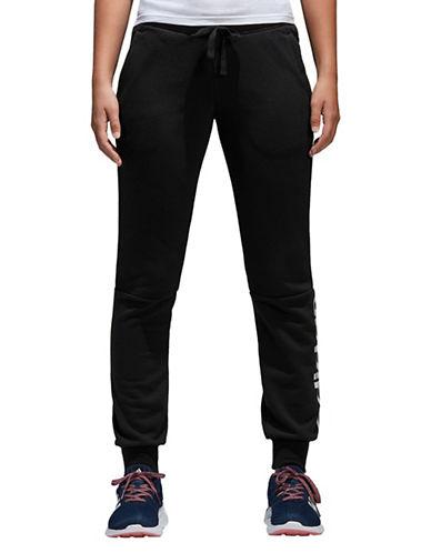 Adidas Drawstring Jogger Pants-BLACK-X-Large 89747624_BLACK_X-Large