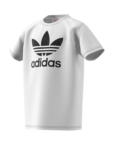 Adidas Trefoil FT T-shirt-WHITE-Small 88916079_WHITE_Small