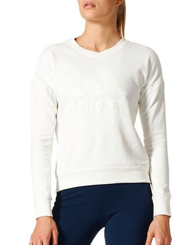 Adidas Sport ID Sweatshirt-WHITE-Medium 89080419_WHITE_Medium
