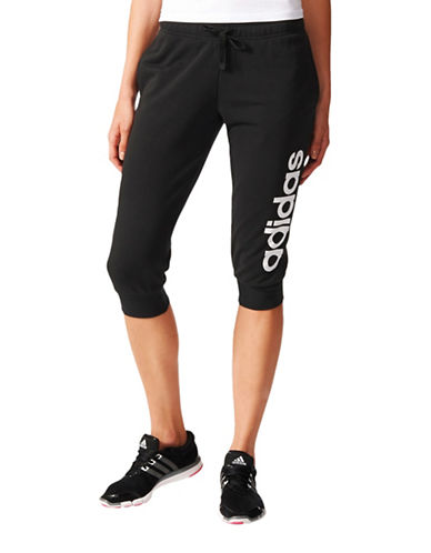Adidas Essentials Three-Quarter Pants-BLACK-Small 89236550_BLACK_Small