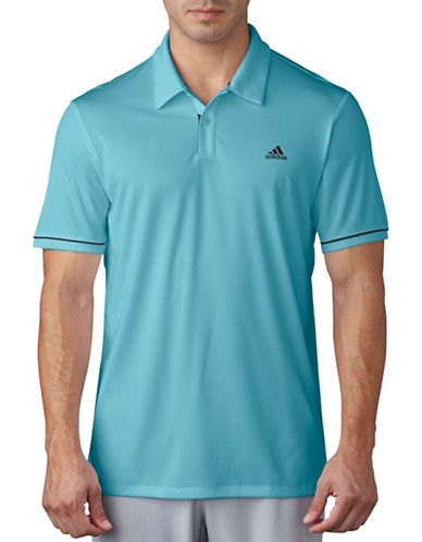 Adidas Golf Regular-Fit Climacool Advantage Polo-BLUE-Medium