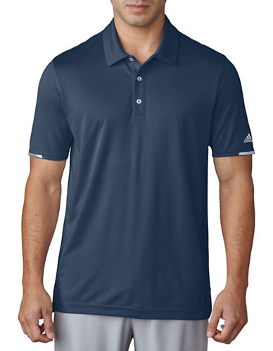 Adidas Golf Climachill Solid Polo-GREY-Small