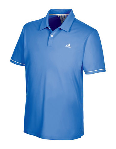Adidas Golf Climacool Advantage Golf Polo-BLUE-Small