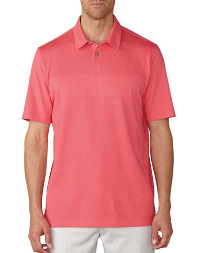 Ashworth Tonal Jacquard Polo-PINK-Medium