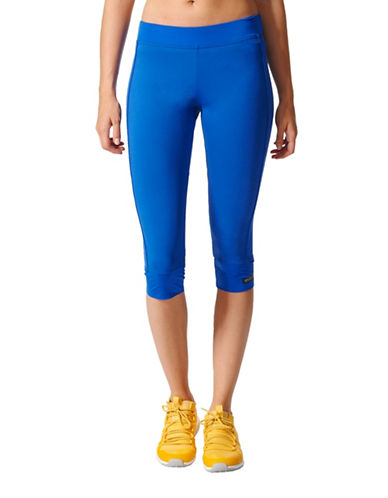 Stella Mccartney The Performance Three-Quarter Tights-BLUE-Large 89184813_BLUE_Large