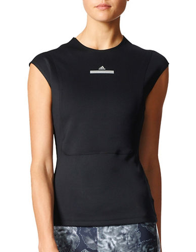 Stella Mccartney Run Tee-BLACK-X-Small 89184819_BLACK_X-Small