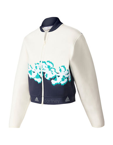 Stella Mccartney Yoga Flower Jacket-WHITE-Large