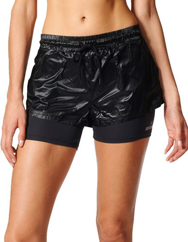 Stella Mccartney Run Two-in-One Shorts-BLACK-X-Small 89184823_BLACK_X-Small
