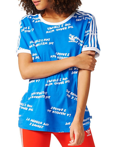 Adidas 3-Stripes Jersey Tee-BLUE-Small 89080323_BLUE_Small