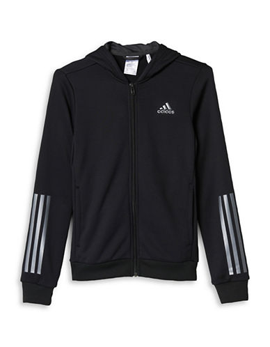Adidas Climalite Training Hoodie-BLACK-Medium 89010708_BLACK_Medium