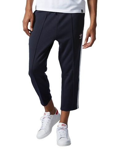 Adidas Superstar Relaxed Cropped Track Pants-NAVY-X-Large 88908094_NAVY_X-Large