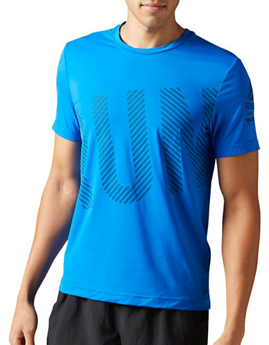 Reebok One Series Running Activchill Tee-BLUE-Small 89027203_BLUE_Small