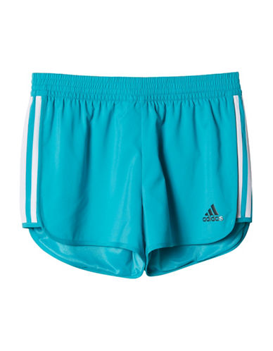 Adidas Marathon Training Shorts-BLUE-10-12