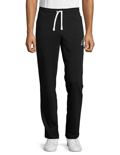 Reebok Slim-Fit French Terry Sweatpants-BLACK-Large 88988332_BLACK_Large