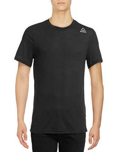 Reebok Workout Ready Supremium 2.0 Tee-BLACK-Medium