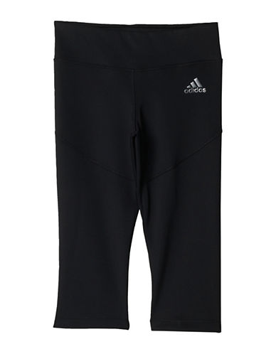 Adidas Techfit Three-Quarter Tights-BLACK-10-12