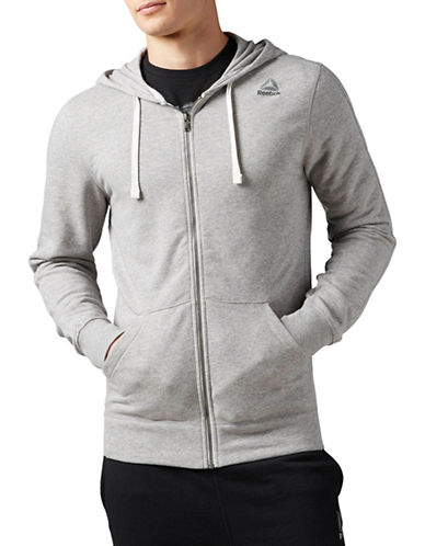 Reebok Elements Seasonal French Terry Hoodie-GREY-X-Large 89782765_GREY_X-Large