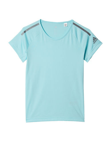 Adidas Training Cool Tee-BLUE-10-12