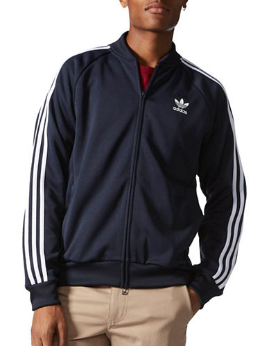 Adidas Superstar Relaxed Track Jacket-NAVY-Medium 88908087_NAVY_Medium