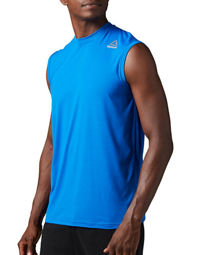 Reebok Active Chill Tank Top-BLUE-Large 89199794_BLUE_Large