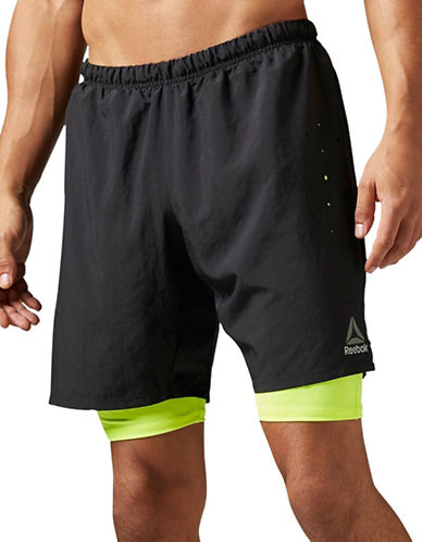 Reebok One Series Running 2-in-1 Shorts-BLACK-Small 88907633_BLACK_Small