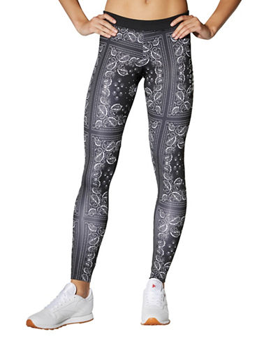 Reebok GR Havana Printed Leggings-BLACK-Medium 89177292_BLACK_Medium