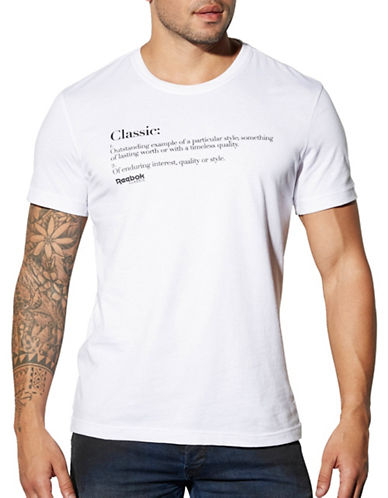 Reebok Definition T-Shirt-WHITE-Large