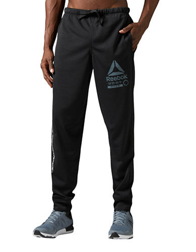 Reebok One Series Running Track Pants-BLACK-X-Large 89027216_BLACK_X-Large