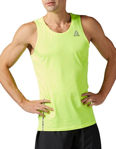 Reebok One Series Running Tank Top-YELLOW-Small 89199776_YELLOW_Small
