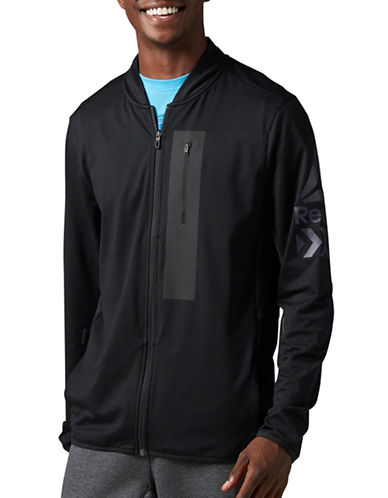 Reebok Brushed Track Jacket-BLACK-Medium 88907619_BLACK_Medium