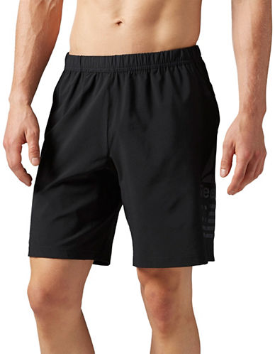 Reebok Speed Shorts-BLACK-Medium 89027172_BLACK_Medium