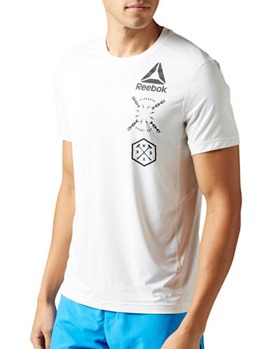 Reebok Activchill Graphic Tee-WHITE-Medium 89027154_WHITE_Medium