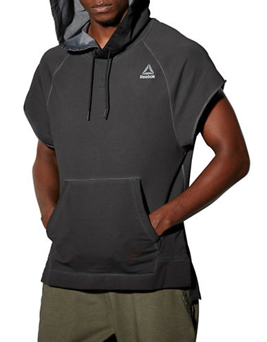 Reebok Slim-Fit Combat Glory Hoodie-BLACK-Medium 89027125_BLACK_Medium