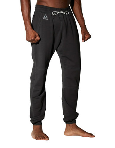 Reebok Noble Fight Joggers-BLACK-Medium